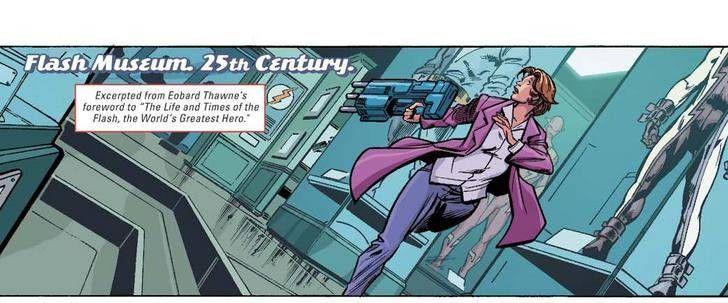 That suit looks familiar.... (The Flash #27)