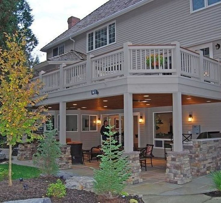 49 Fabulous Backyard Patio Deck Ideas – Ellen Mark