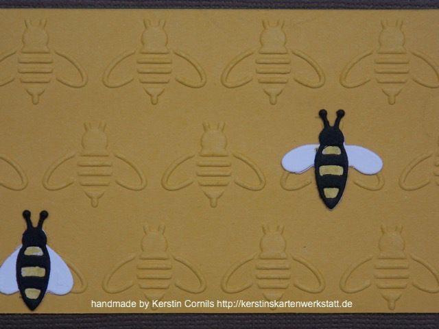 Bienen Prägefolder 3