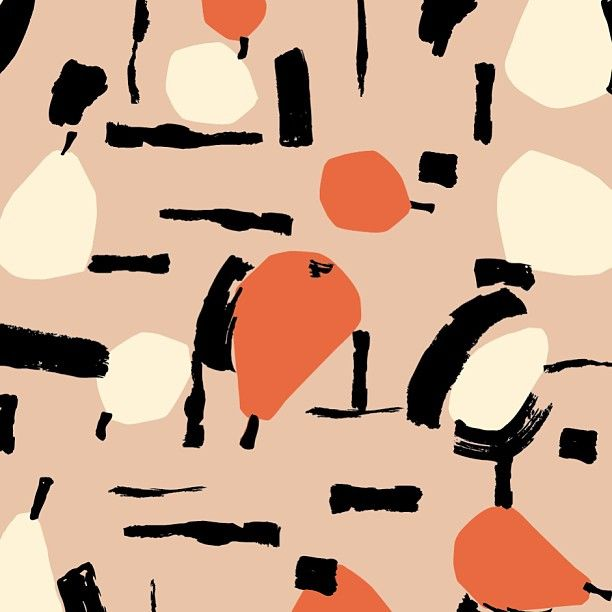 SS11 pear collage print #orlakiely