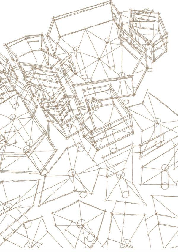 Wireframe Background - ARCA. Arquine Magazine Architectural Competition 2010