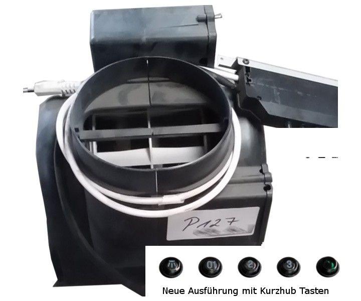 Motorgehäuse mit Motor und Schaltung für Wandhaube P127 bzw. Prisma der Unternehmen Sirius Cappe, Pauen Dunstabzughauben, Kruse bzw. VTS Schlauchte...