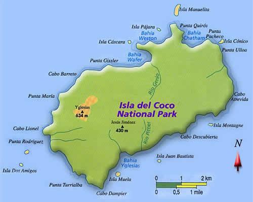 Isla del Coco, Costa Rica, Central America.