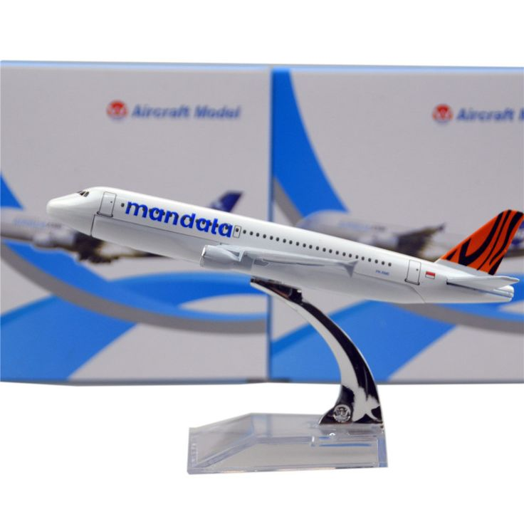 Mandala Airlines AIRBUS A320 Airplane Model (1:400)