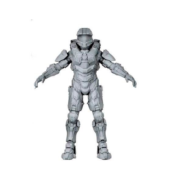 Figura Master Chief. Halo, 46cm Figura de Master Chief, el comandante del video juego Halo.