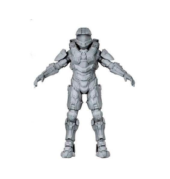 Figura Master Chief. Halo, 46cm Figura de Master Chief, el comandante del video juego Halo.