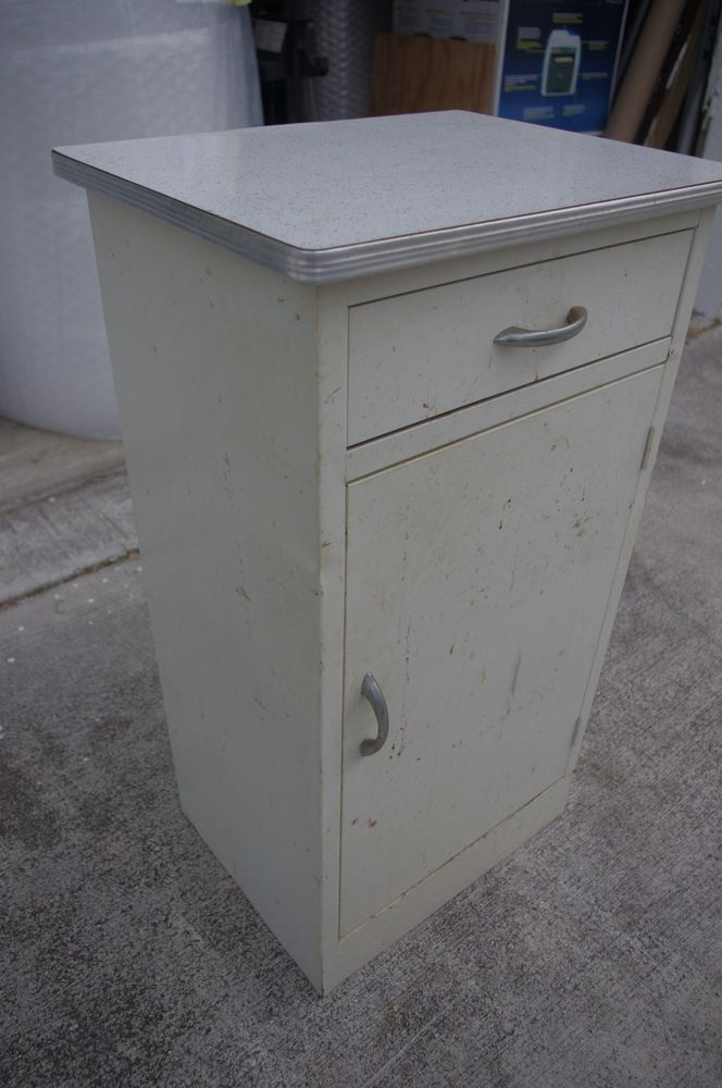 Vintage Metal Kitchen Cabinet Counter Research Metal