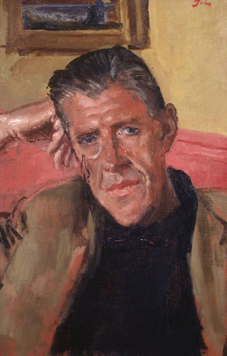 Portrait of Edward Grove, 1940 by Augustus John (British, 1878-1961)
