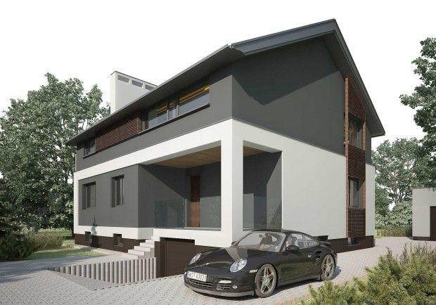 Nadbudowa budynku mieszkalnego D_06 | K. S. ARCHITEKCI | Kinga Brix-Grobelna • Seweryn Grobelny