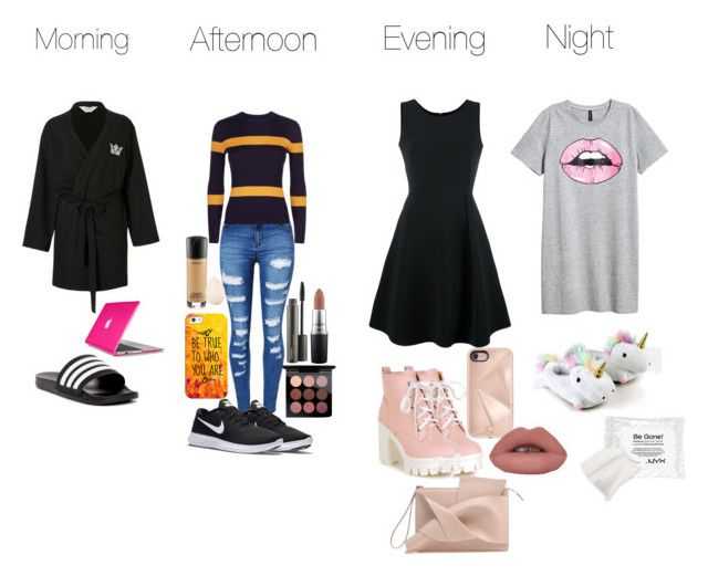 """""""Dag outfits"""" by bentoes on Polyvore featuring mode, adidas, Speck, WithChic, NIKE, Jaeger, Casetify, MAC Cosmetics, Christian Dior en Emporio Armani"""