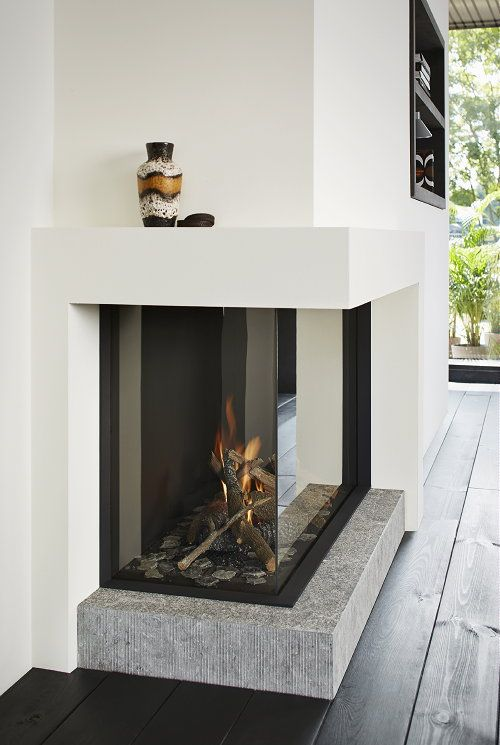Fireplaces Trends -  Tulp Gas Fireplace B-Fire 100 (Photo Tulp Fireplaces)