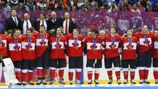 Ô Canada:le hockey c'est notre sport.