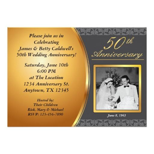 50th Wedding Anniversary Invitation Ideas: 78 Best Images About Invitation Ideas On Pinterest