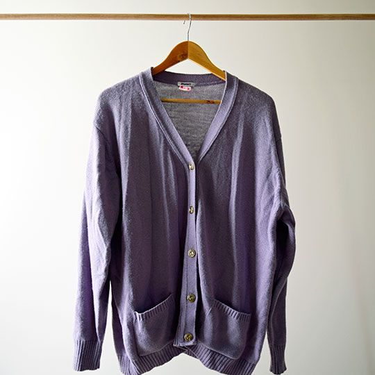 Made By Mee + Co | Lilac Cardigan