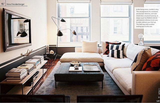 Nina Freudenberger / Patrick Cline / Lonny {eclectic modern living room} | Flickr - Photo Sharing!