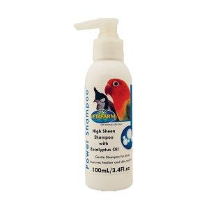 Power Shampoo - A high sheen shampoo for clean healthy skin and feathers. Improves feather appearance and performance for competition advantage.