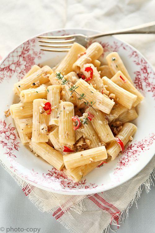 een vreselijk lekkere pasta, dit