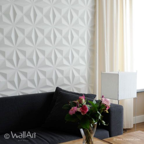 WallArt - Decorative Interior 3D Wall Panels - Textured Wall Decor Designs The Accent Wall in the Dining Room...