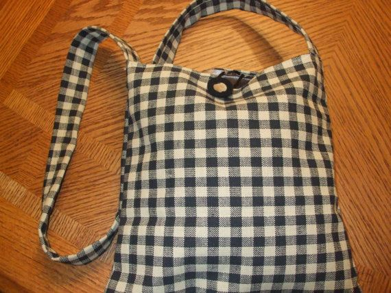 cross body pocketbook handmade fabric purse by SouthernTreasures16