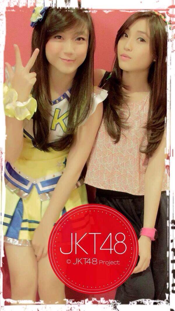 Sinka Juliani, Shinta Naomi #JKT48 #AKB48