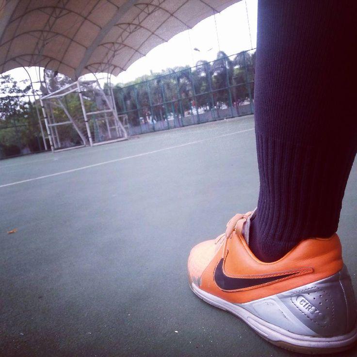 """Just do it ..... You can't do it you can't get it ..... #panna#futsal #futsalindonesia #nike #practice #training"""