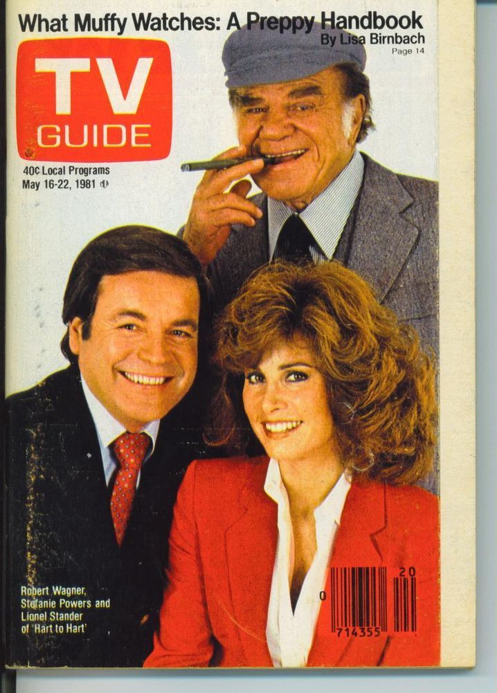 CHICAGO TV GUIDE 5-16-1981 LIONEL STANDER~INGA SWENSON~HART TO HART~BENSON
