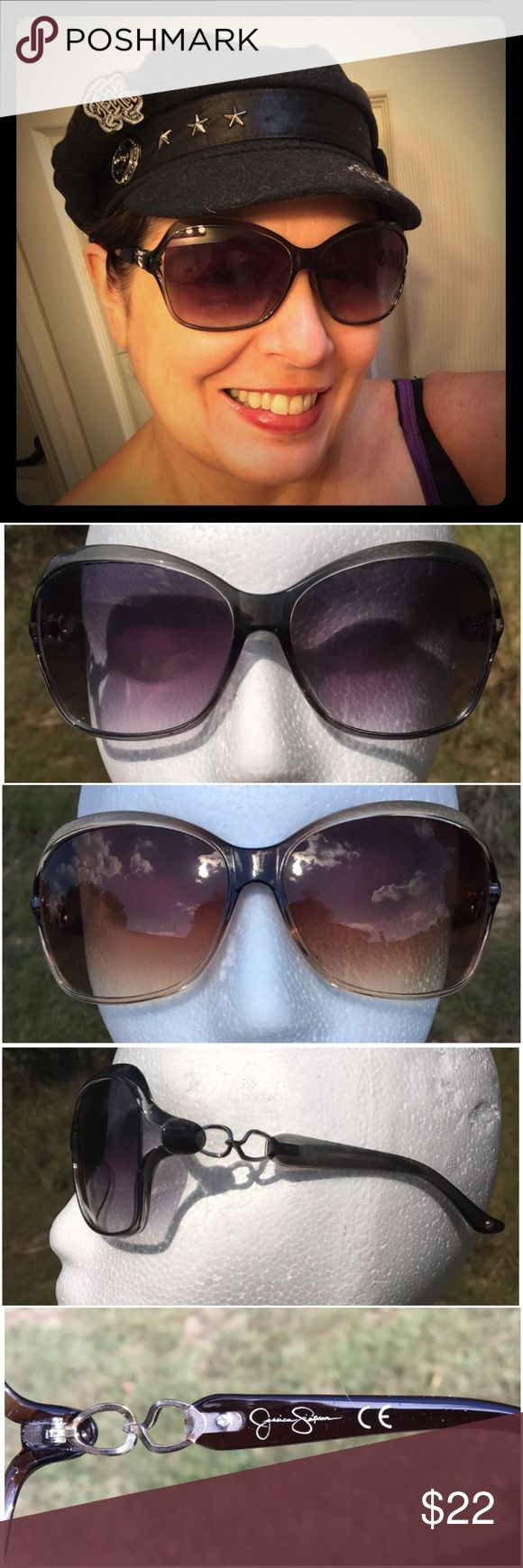 Jessica Simpson SUNNIES ☀️☀️ TWO PAIR SUNGLASSES Two pair JESSICA SIMPSON - the sunglasses are identical styles, just different colors - one brownish, one grayish. NO CASES. Excellent condition - no scratches or other issues to note. Jessica Simpson Accessories Sunglasses