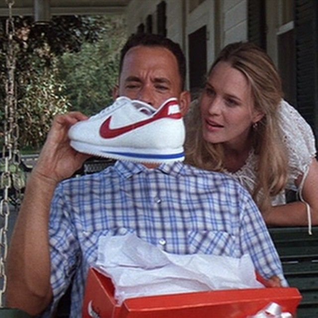 Forrest and Jenny (my favorite film of all time. Deep warm sentiments.)