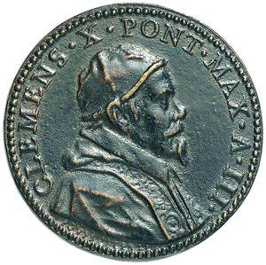 Artemide Aste - Asta XXVI: 1264 - Clemente X (1670-1676). Medaglia annuale A.III - Tribuna della Basilica Liberiana - Dea Moneta