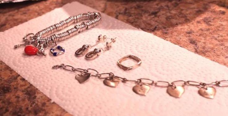Le secret pour éliminer rapidement et facilement le ternissement sur les bijoux en argent! - Trucs et Astuces - Trucs et Bricolages