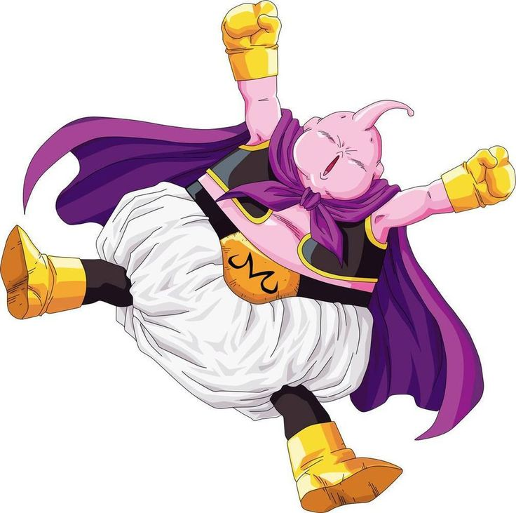 Huge majin buu dragon ball z decal removable wall sticker home decor art vilain