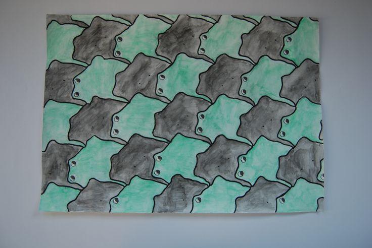 Escher teken opdracht
