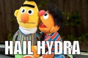 Best of Hail HYDRA: The New Marvel Meme Sweeping The Internet