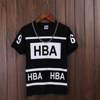HOT men Hood by Air HBA 69 t shirt fashion 2016 summer new skate clothing youth…