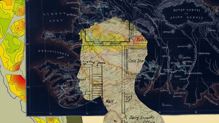 Humanizar los mapas. Collage de Mario Trigo