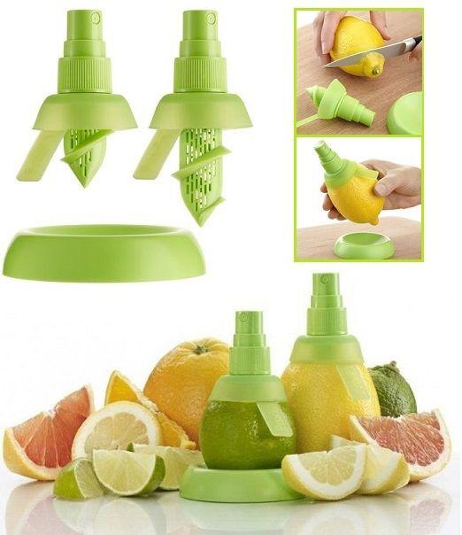 Élvezd az igazi citrus zamatát közvetlenül a gyümölcsből! Csak csavard bele ezt az ötletes szerkezetet és használd úgy, mint egy normál sprayt! Ízesít...