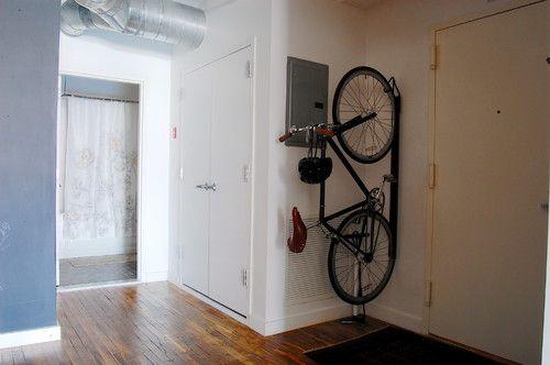 Оригинальное хранение велосипеда!