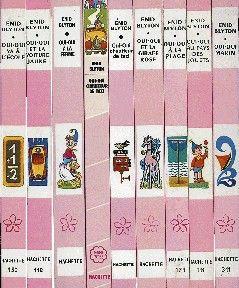: La Bibliothèque rose des années 60-70... j'ai adoré lire ces livres