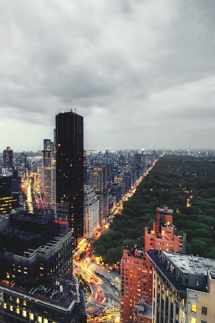 West Midtown at Twilight New York City By Andrew Mace #newyorkcityfeelings #nyc #newyork