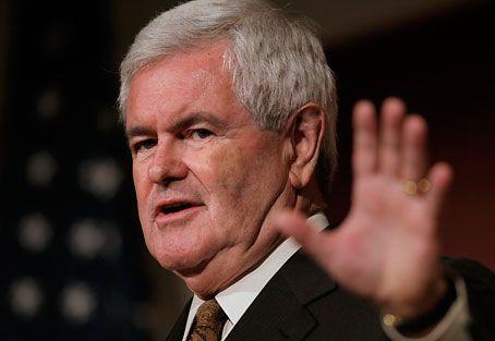 Newt Gingrich Blames 'Anti Religious' Secular Government For Newtown Shooting | It's always us evil humanists.