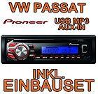 VW Passat 3B 3BG PIONEER USB CD MP3 AUTO