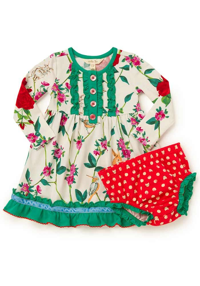 Santa S Helper Dress Matilda Jane Clothing Matilda Jane Clothing Baby Baby Girl Fashion Hipster Baby Clothes