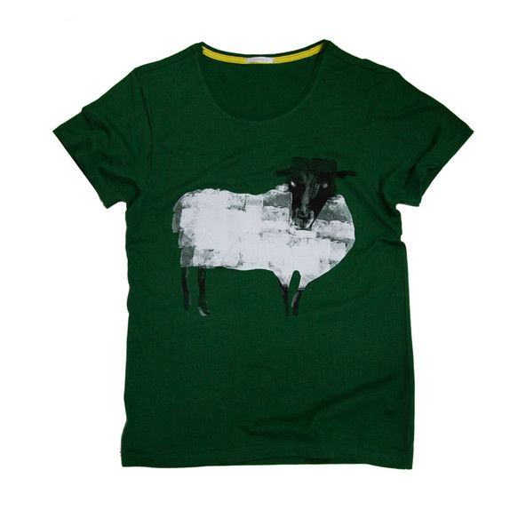 S~Lサイズカラー:グリーンコットン100%TcollectorのTシャツ。柔らかくて着心地の良いボディー。ふわふわな羊のTシャツです。 ハンドメイド、手作り、手仕事品の通販・販売・購入ならCreema。