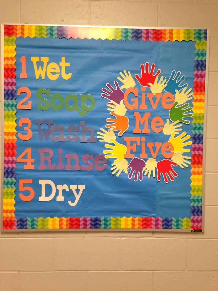 Bulletin board for school nurse office