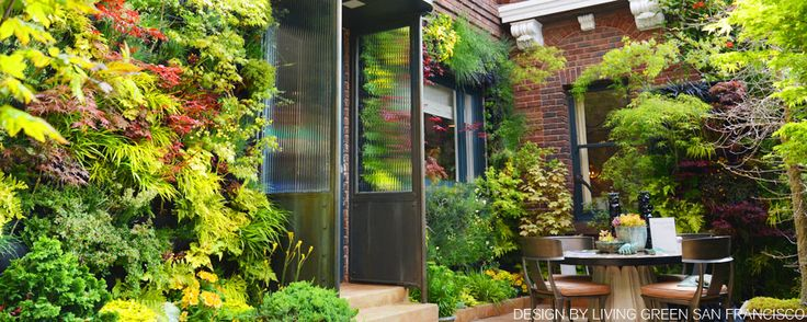 Plants On Walls Vertical Gardens and Living Wall Systems