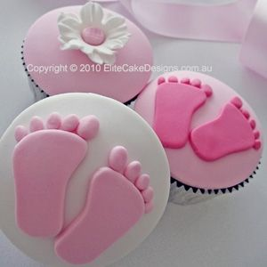 Great cup cake ideas for a baby shower