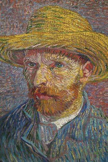 Self Portrait of Van Gogh. High quality vintage art reproduction by Buyenlarge. One of many rare and wonderful images brought forward in time. I hope they bring you pleasure each and every time you lo