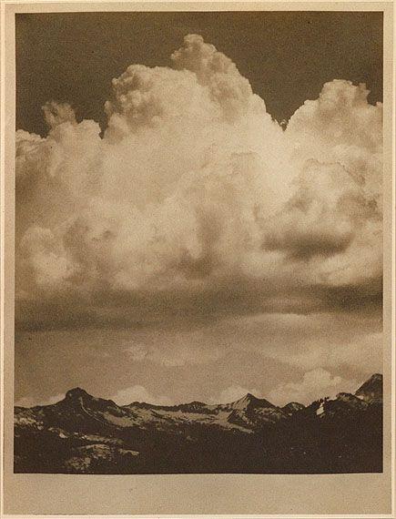 Alvin Langdon Coburn, the cloud, 1912
