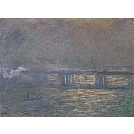 Monet: Charing Cross Bridge  St. Louis Art Museum  My favorite of his works.