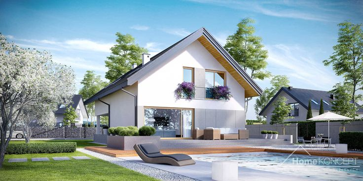 Projekt domu HomeKONCEPT 25 www.homekoncept.pl #projektdomu